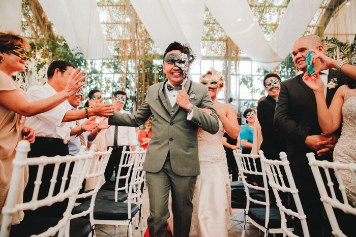 A Venetian Masquerade Wedding