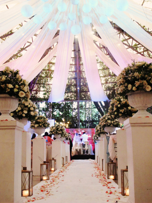 Glass Garden Events Venue Wedding