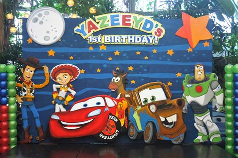 Yazeeyd's 1st Birthday Party, A Toy Story Adventure
