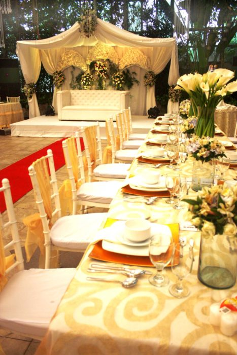 Glass Garden Event Place Evening Wedding