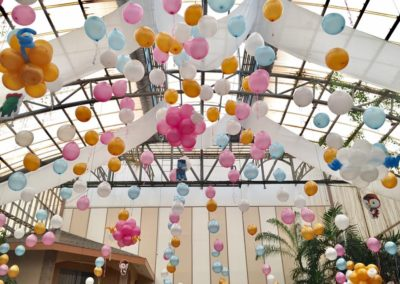 glass garden kiddie party